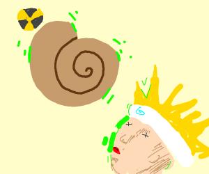 radioactive fossils kill naruto