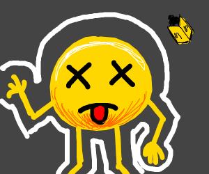 emoji dead