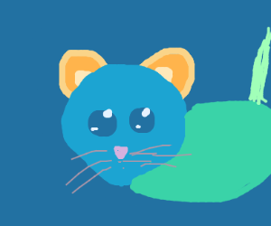 Multi-Colored Mouse (oh, the irony!)