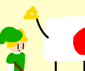 Japan doesn't trust Link with anything
