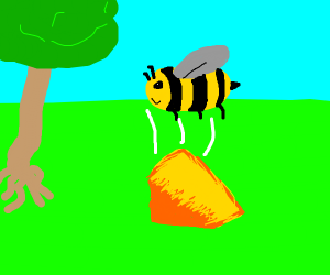 Bee drops his Red Leicester