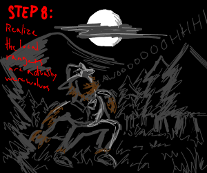 Step 7: contact local forest rangers
