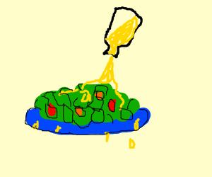 Greasy Salad