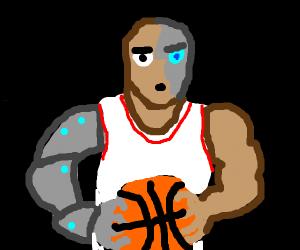 basketball player cyborg