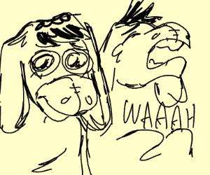 Eeyore Crying