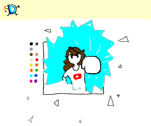 JaidenAnimations is invading Drawception.