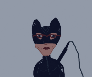Catwomen with Glasses