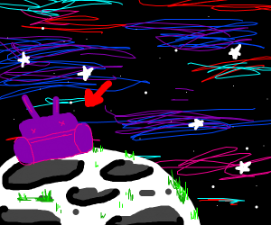 alien couch