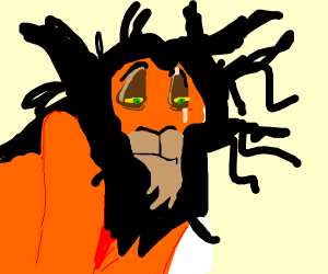 Lion King Scar's Bad Hair Day