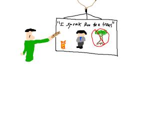 teacher presents bad movie