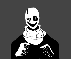 Gaster from that indie game