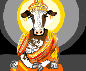 The cow goddess