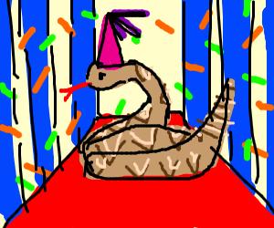 Rattlesnake Celebrating