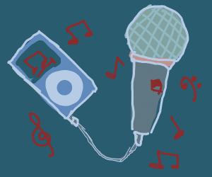 Ipod karaoke