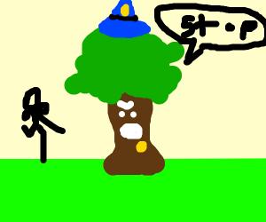 Tree Police Officer
