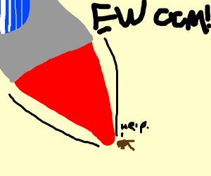 Rocketship vs. cockroach