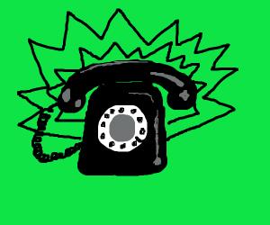 telephone ringing
