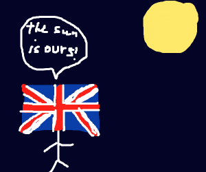 the uk claims the sun
