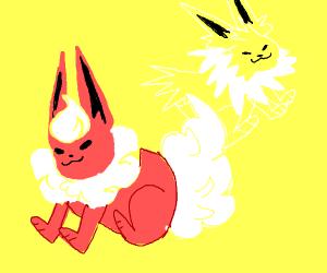 Flareon and Jolteon
