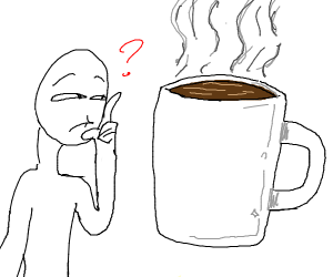 Hot chocolote or coffie