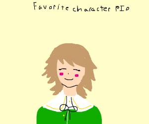 Favourite character PIO