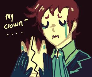 Sad Prince Broke His Crown