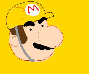 super mario maker's head