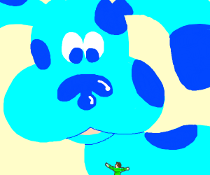 Giant Blue from Blue's Clues