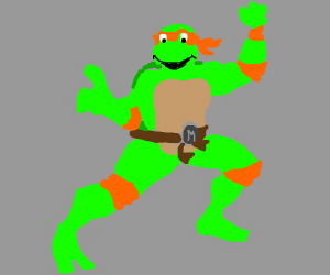 Michelangelo From Teenage Mutant Turts.