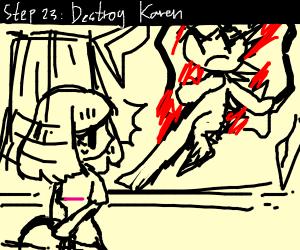 Step 22 karen takes the kids