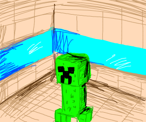 Creepers in your minecraft house