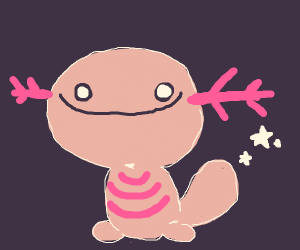 This wooper is shiny (Pokemon)
