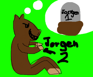 Horse is happy that jeorgon died