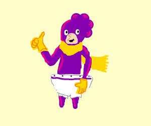 Mineta giving a thumbs up