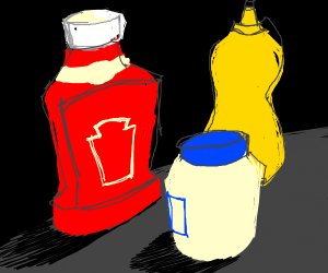 muSTARD AND KETCHUP GANG UP ON MAYO