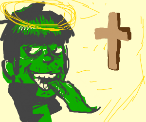 Murdoc converts to Christianity (JUST DRAW!!)