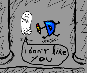 ghost does not like drawception
