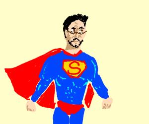 Tony Stark is superman