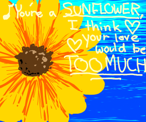 Literal sunflower