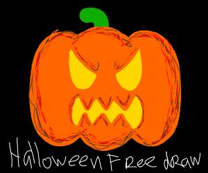 Halloween free draw! (go nuts)