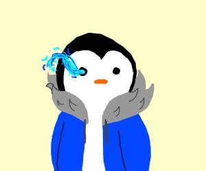 sans penguin