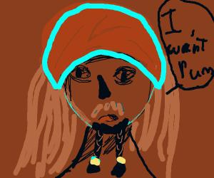 Jack Sparrow wants rum