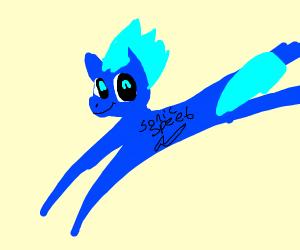 sonic the pony