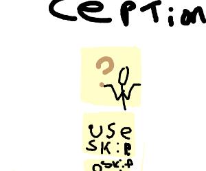 Drawception game CEPTION