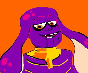 thanos but splatoon
