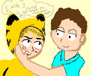 Garfield X John