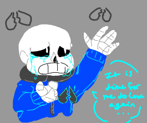 it's time for sans undertale to love