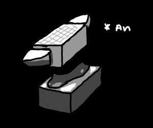 a anvil