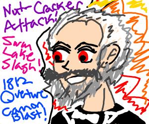 Tchaikovsky but anime protagonist