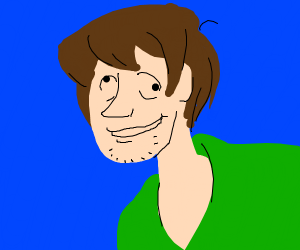 modern shaggy from scoobydoo